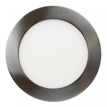 Светильник встраиваемый LED 10 W  круг хром