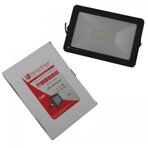 Прожектор LED 70W IP65 ElectroHouse