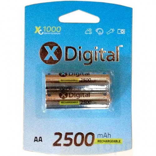 Аккумулятор X-Digital HR6 Ni-MH 2500mAh