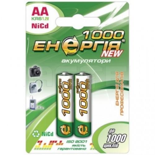 Аккумулятор AA (R6) 1000mAh NiCD