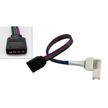 Коннектор с защелкой для SMD/RGB лент 3528/5050