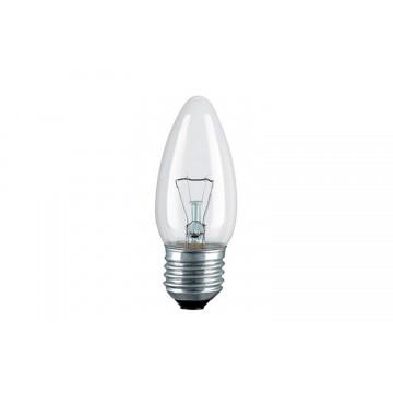 Лампа накаливания PHILIPS В-35 свеча пр. 40W