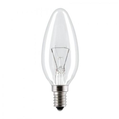 Лампа накаливания PHILIPS В-35 свеча пр. 40W Е14