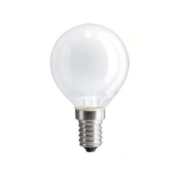 Лампа накаливания PHILIPS P-45 шар. Е14 мат. 40W
