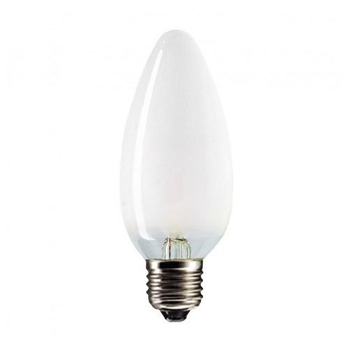 Лампа накаливания PHILIPS В-35 свеча мат. 60W Е27