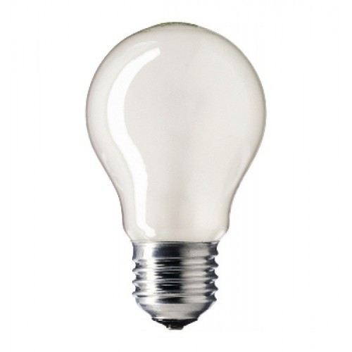 Лампа накаливания PHILIPS A55 E27 мат. 40W