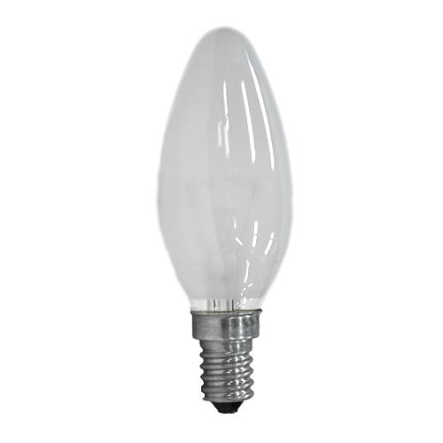 Лампа накаливания PHILIPS В-35 свеча мат. 60W Е14