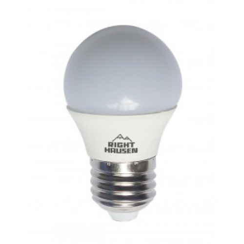Лампа RIGHT HAUSEN LED ШАР 5W E27 4000K, P45 HN-155020