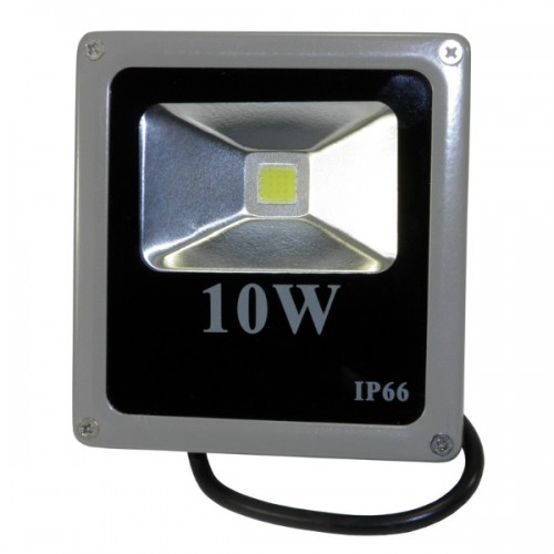 Прожектор LED 10W IP65 RIGHT HAUSEN HN-191012 (серый)